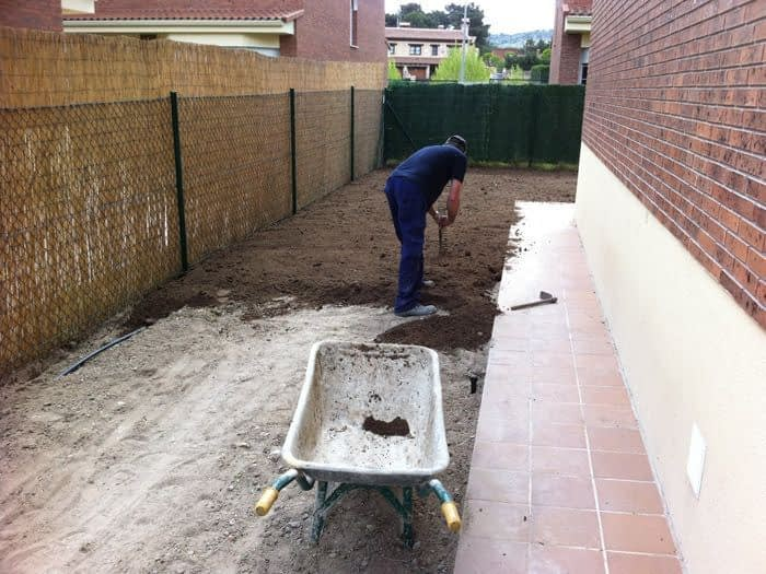 Instalación de Jardín