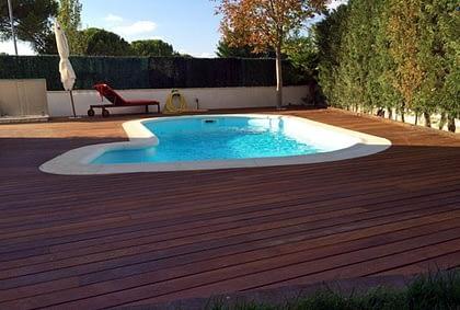 piscina vivienda unifamiliar